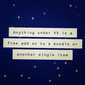 Other - Free add ons !